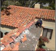 Clay tile removal